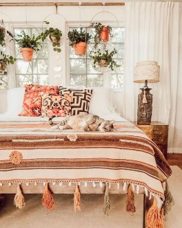 Lovely Boho Bedroom Decor Ideas 45
