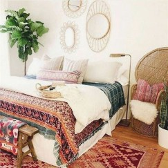 Lovely Boho Bedroom Decor Ideas 50