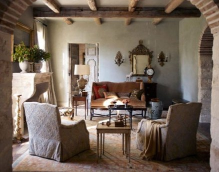 Luxury European Living Room Decor Ideas With Tuscan Style 03