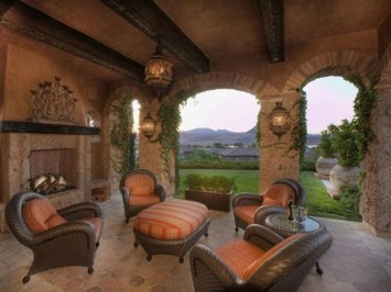 Luxury European Living Room Decor Ideas With Tuscan Style 17