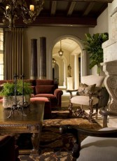 Luxury European Living Room Decor Ideas With Tuscan Style 26