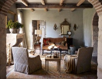 Luxury European Living Room Decor Ideas With Tuscan Style 30