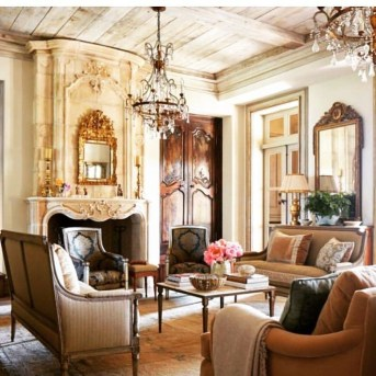 Luxury European Living Room Decor Ideas With Tuscan Style 32