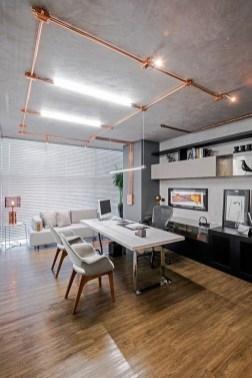 Magnificient Industrial Office Design Ideas 12