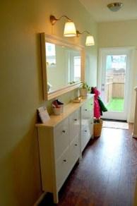 Minimalist Tiny Apartment Shoe Storage Design Ideas 40