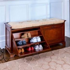 Minimalist Tiny Apartment Shoe Storage Design Ideas 43
