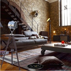 Perfect Industrial Style Loft Designs Ideas For Living Room 09