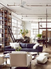 Perfect Industrial Style Loft Designs Ideas For Living Room 27