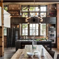 Perfect Industrial Style Loft Designs Ideas For Living Room 34