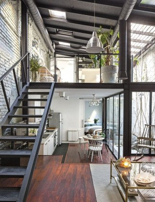 Perfect Industrial Style Loft Designs Ideas For Living Room 51