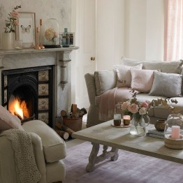Shabby Chic Decoration Ideas For Living Room 19