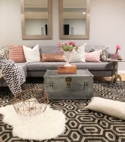 Shabby Chic Decoration Ideas For Living Room 34
