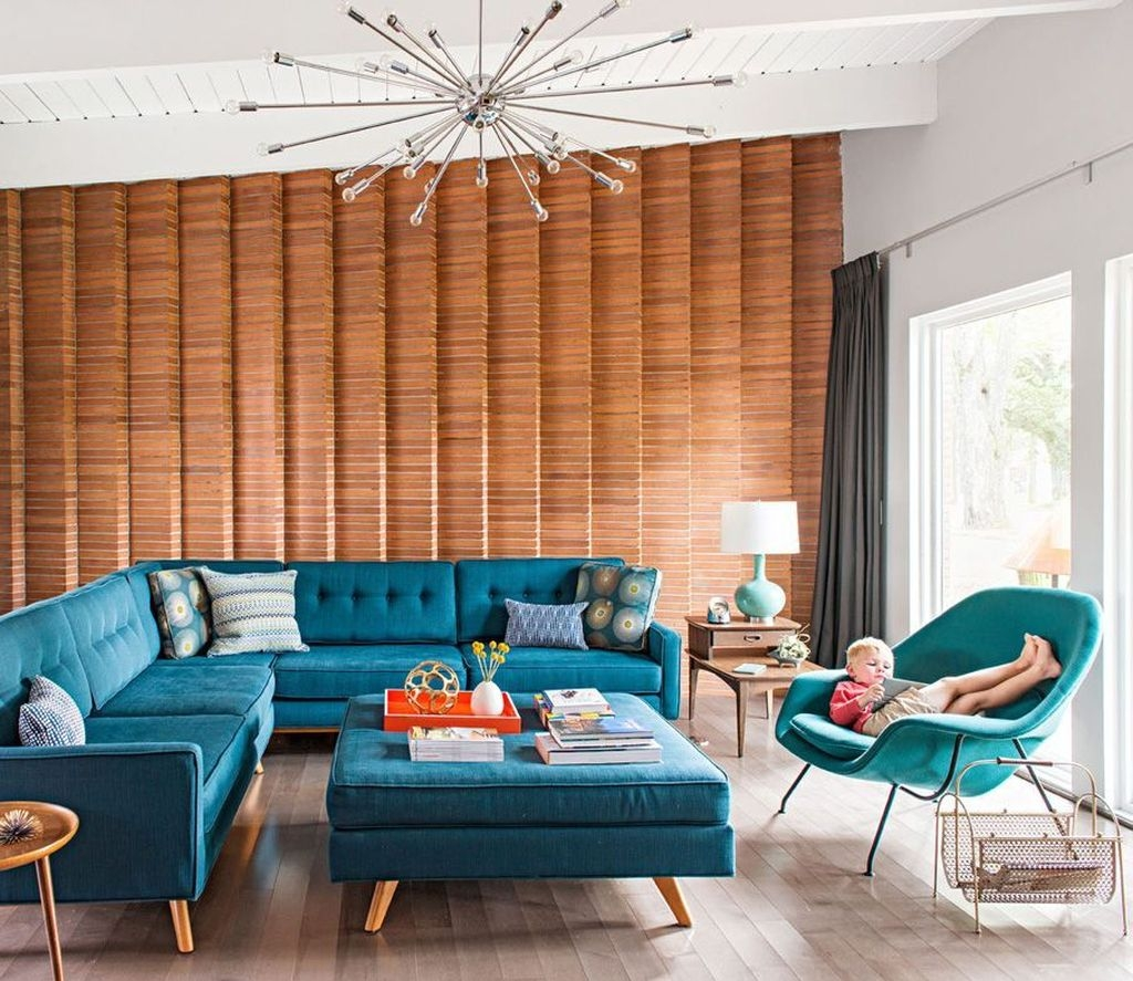 Unique Mid Century Living Room Ideas With Furniture 47