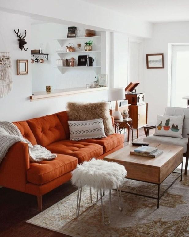 Unique Mid Century Living Room Ideas With Furniture 53