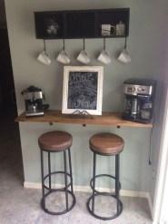 Wonderful Apartment Coffee Bar Cart Ideas 11