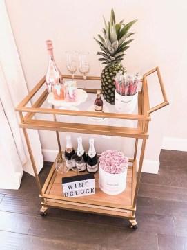 Wonderful Apartment Coffee Bar Cart Ideas 18