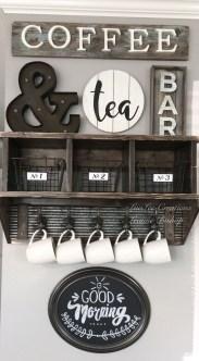 Wonderful Apartment Coffee Bar Cart Ideas 37