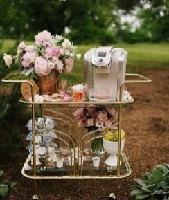 Wonderful Apartment Coffee Bar Cart Ideas 45