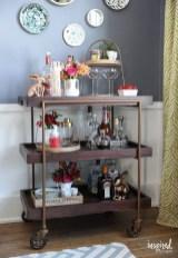 Wonderful Apartment Coffee Bar Cart Ideas 47