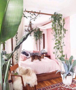 Wonderful Bohemian Design Decorating Ideas For Bedroom 01