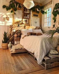 Wonderful Bohemian Design Decorating Ideas For Bedroom 15
