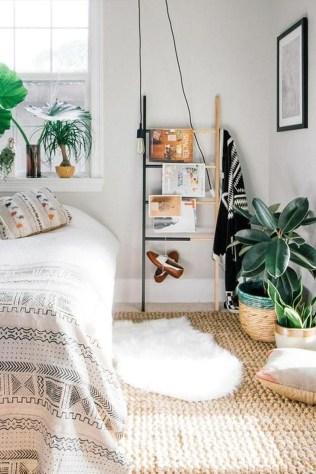 Wonderful Bohemian Design Decorating Ideas For Bedroom 19
