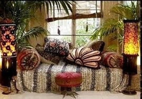 Wonderful Bohemian Design Decorating Ideas For Bedroom 21