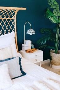Wonderful Bohemian Design Decorating Ideas For Bedroom 44