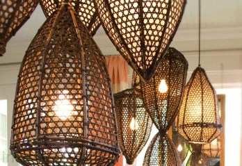 Adorable Hanging Lamp Designs Ideas From Rattan 08