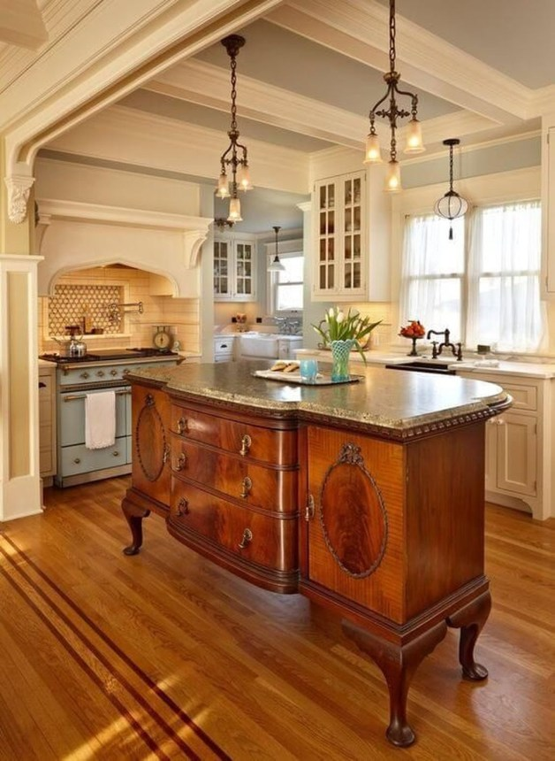Awesome French Country Design Ideas For Kitchen 01