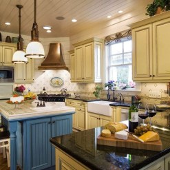 Awesome French Country Design Ideas For Kitchen 52