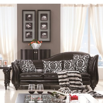 Catchy Living Room Designs Ideas With Bold Black Furniture 02