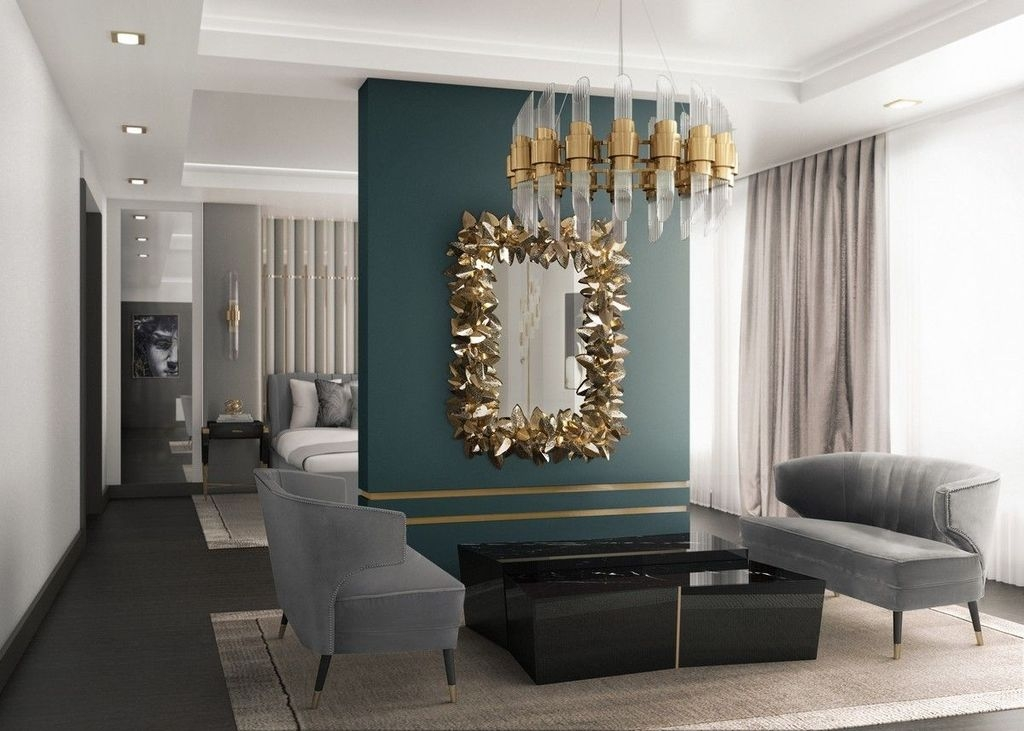Catchy Living Room Designs Ideas With Bold Black Furniture 05