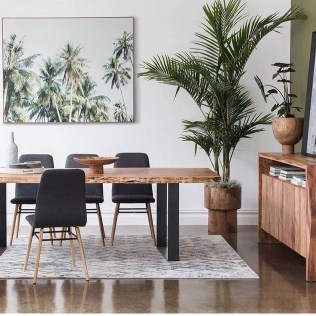 Catchy Living Room Designs Ideas With Bold Black Furniture 19
