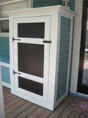 Cool Small Storage Shed Ideas For Garden 09