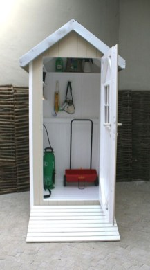Cool Small Storage Shed Ideas For Garden 26