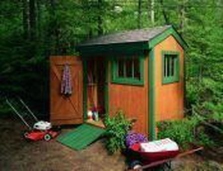 Cool Small Storage Shed Ideas For Garden 32