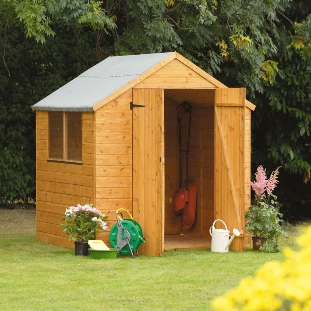 Cool Small Storage Shed Ideas For Garden 37