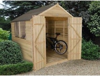 Cool Small Storage Shed Ideas For Garden 42