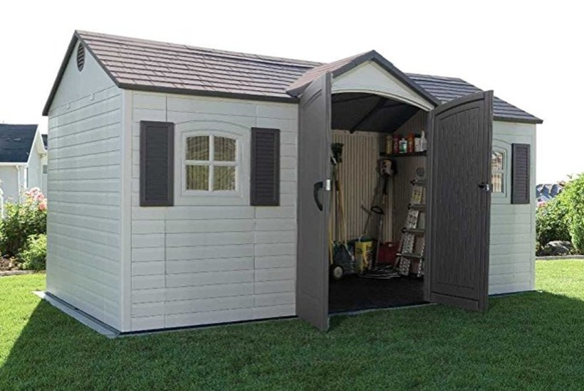 Cool Small Storage Shed Ideas For Garden 45