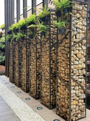 Cute Garden Fences Walls Ideas 51