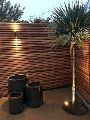 Cute Garden Fences Walls Ideas 52