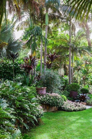 Cute Palm Gardening Ideas For Front Yard 33