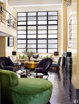 Enchanting Living Rooms Ideas With Combinations Of Grey Green 07