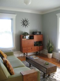 Enchanting Living Rooms Ideas With Combinations Of Grey Green 10