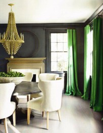 Enchanting Living Rooms Ideas With Combinations Of Grey Green 11