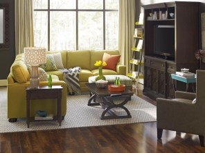 Enchanting Living Rooms Ideas With Combinations Of Grey Green 18