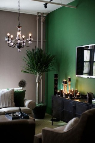 Enchanting Living Rooms Ideas With Combinations Of Grey Green 27