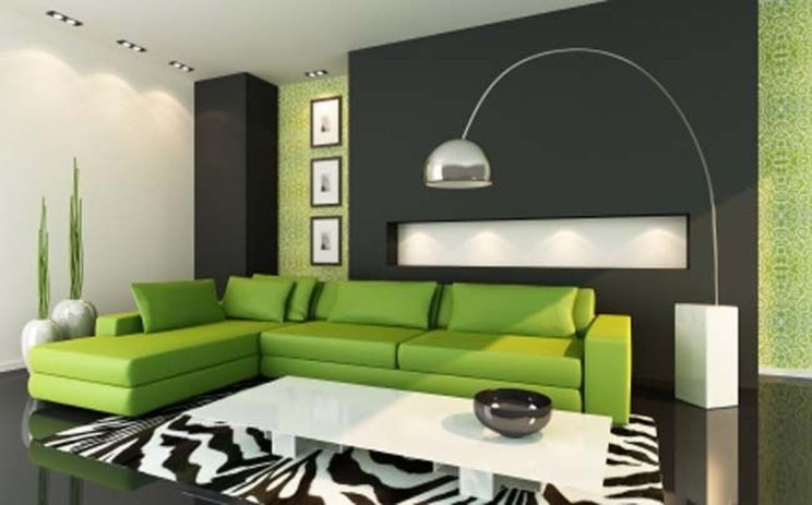 Enchanting Living Rooms Ideas With Combinations Of Grey Green 30