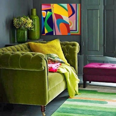 Enchanting Living Rooms Ideas With Combinations Of Grey Green 42
